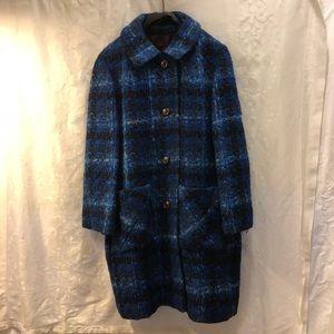 Vintage Textured Sweater Coat